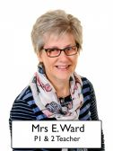 Mrs E Ward - <p>P1/2 Teacher Senior Teacher Numeracy Coordinator Music Coordinator</p>