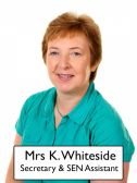 Mrs K Whiteside - <p>Secretary SEN Assistant</p>